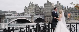 Balmorel Hotel Wedding Film Edinburgh